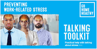 'Talking tookit' helps deal with workplace stress
